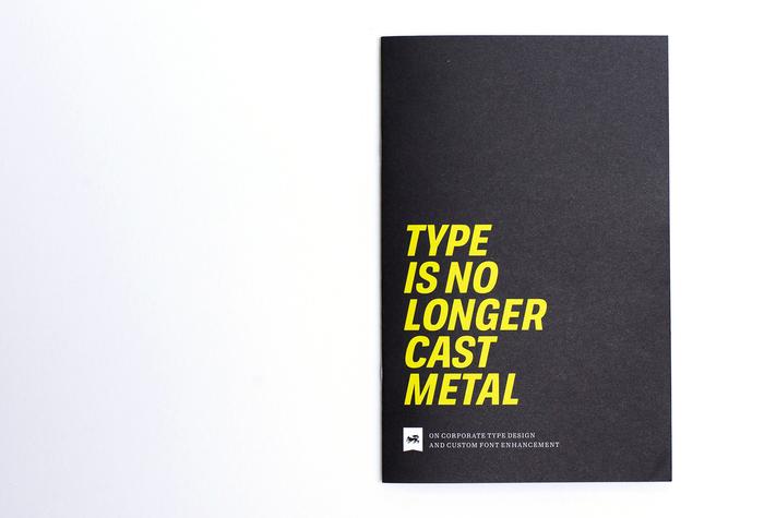 Type is no longer cast metal 1