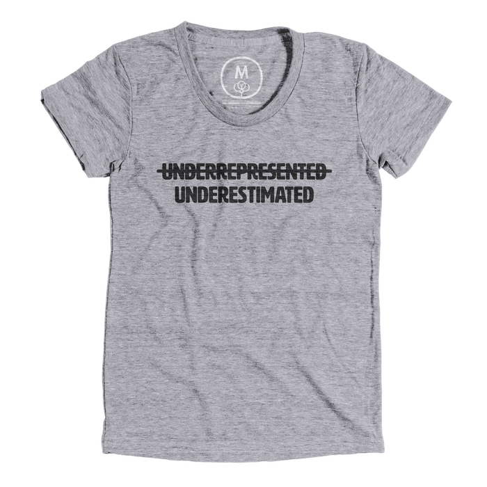 """UEM: Underestimated Minority"" T-shirt 1"