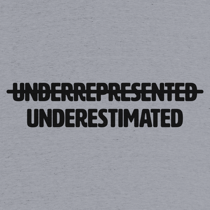 """UEM: Underestimated Minority"" T-shirt 2"