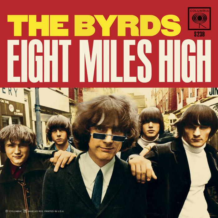 "The Byrds – ""Eight Miles High"" single cover  (Sundazed)"