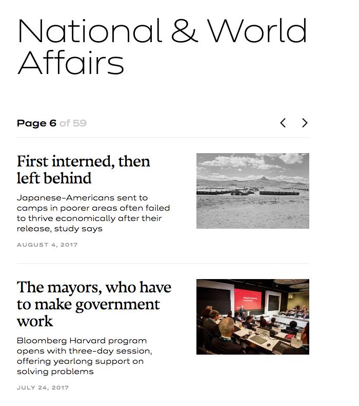 The Harvard Gazette 4