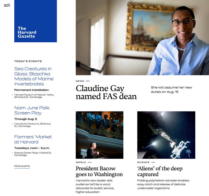 The Harvard Gazette 9