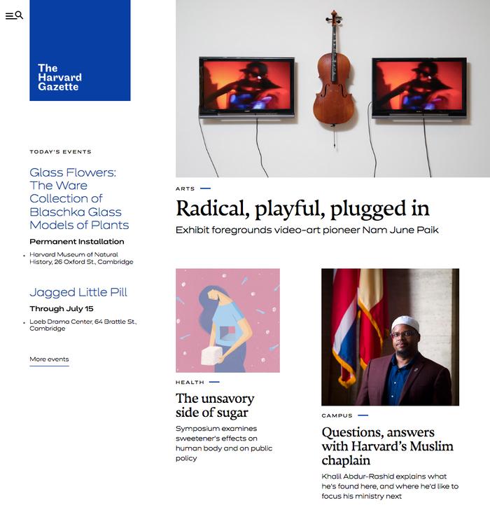 The Harvard Gazette 1