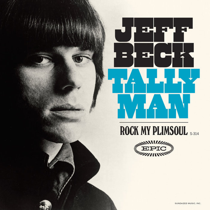 "Jeff Beck – ""Tally Man"" single cover (Sundazed)"