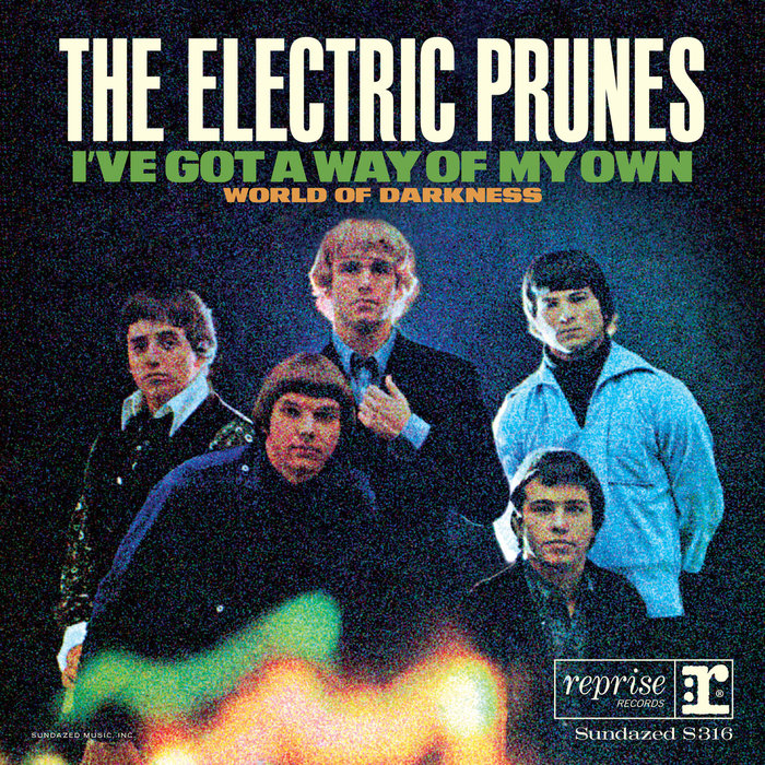 """The Electric Prunes – """"I've Got A Way Of My Own"""" single cover"""