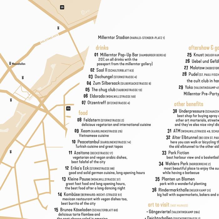 Millerntor Gallery Guide St. Pauli 3