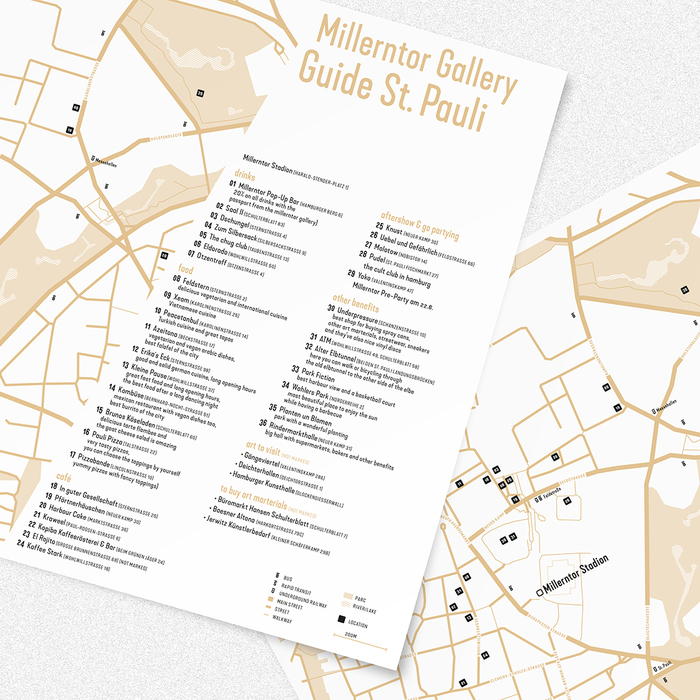 Millerntor Gallery Guide St. Pauli 1