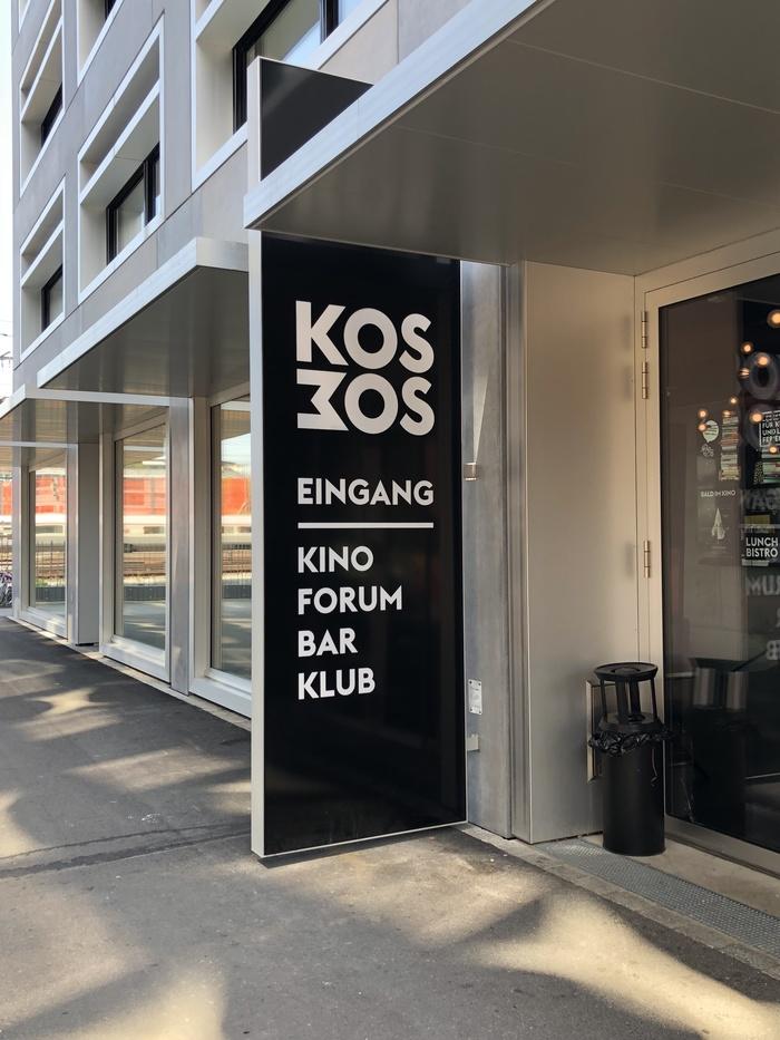 Kosmos – Bühne, Buchsalon, Kino, Bistro, Bar 10