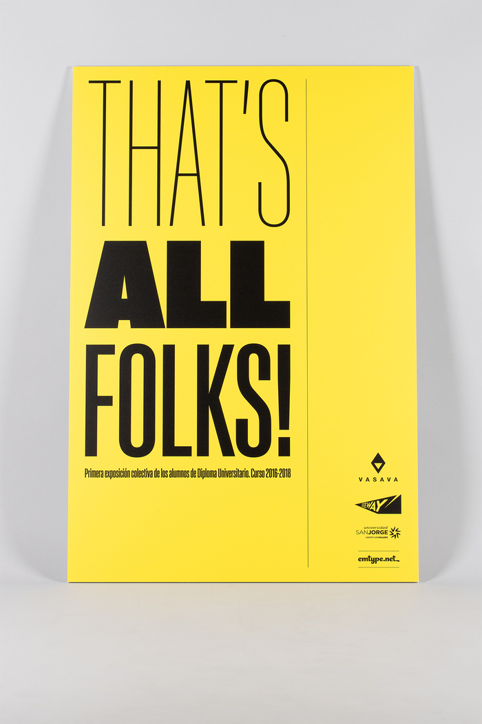 That's all folks! 1