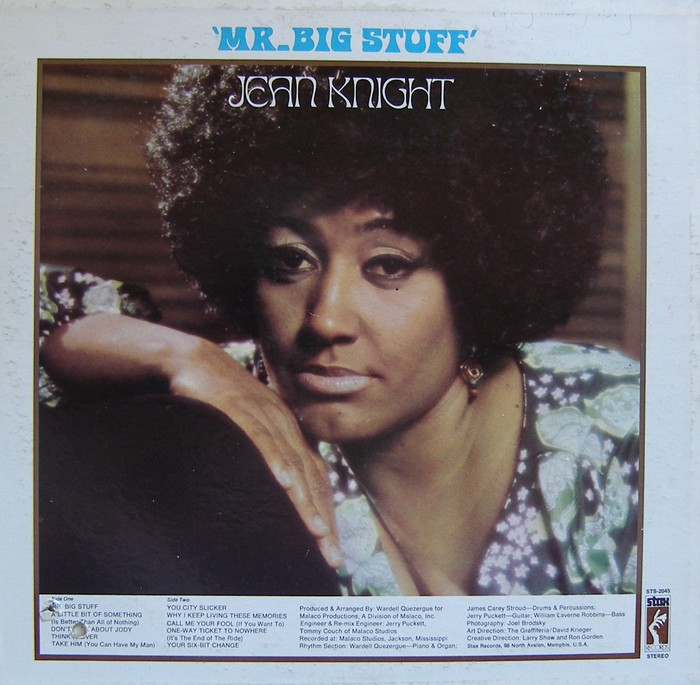 Jean Knight – Mr. Big Stuff album art 2