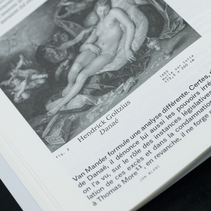 Image captions combine Versailles and the monospaced OCR-B, both by Adrian Frutiger.