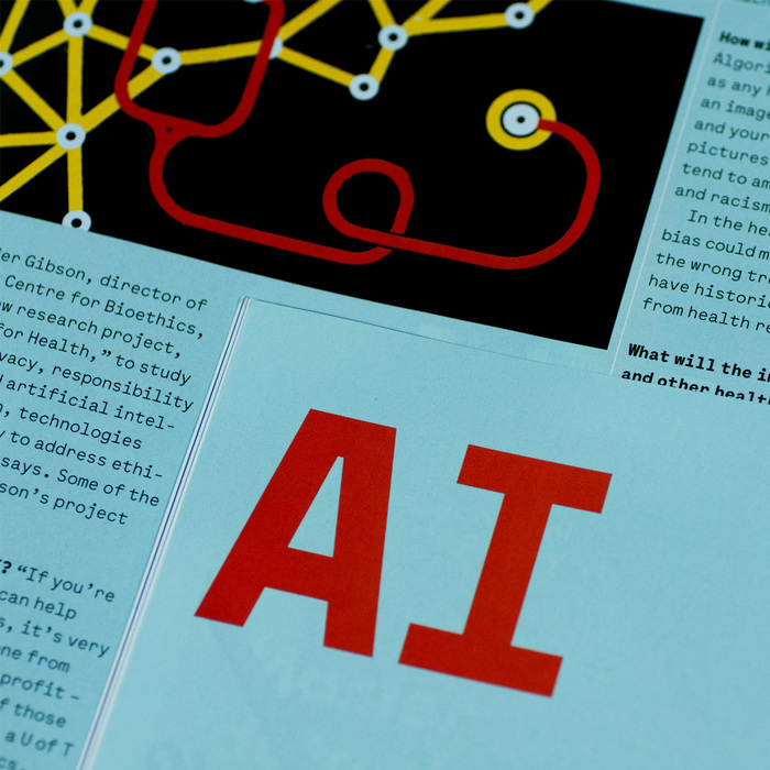 "U of T Magazine, ""Faster, Smarter AI"", spring 2018 7"