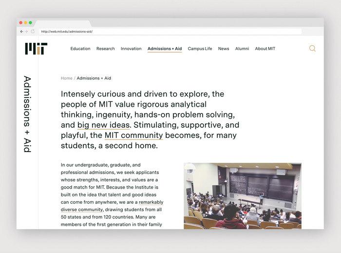 Massachusetts Institute of Technology website 1