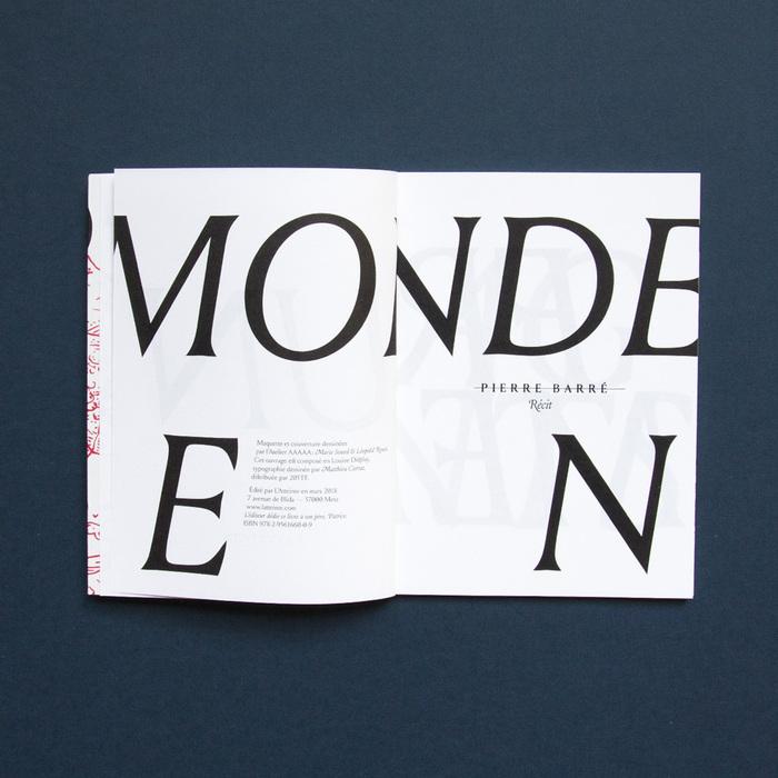 Un monde en fragments by Pierre Barré (L'Atteinte) 3