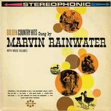 Marvin Rainwater – <cite>Golden Country Hits</cite> album art