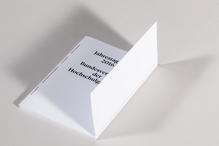 <cite>Bundesverband der Hochschulgalerien</cite> booklet