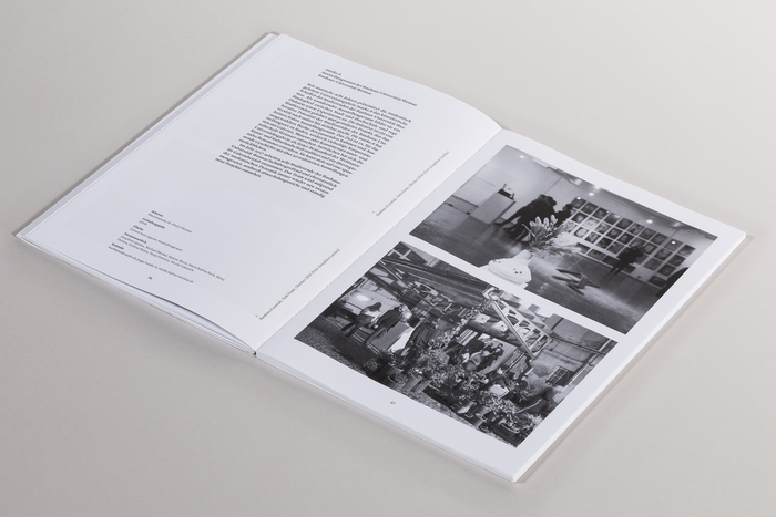 The book starts with 20 gallery profiles in black-and-white