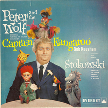 Captain Kangaroo – <cite>Peter and the Wolf</cite> album art