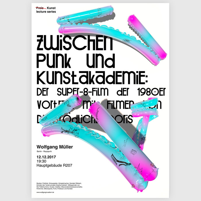 Freie Kunst lecture series 3