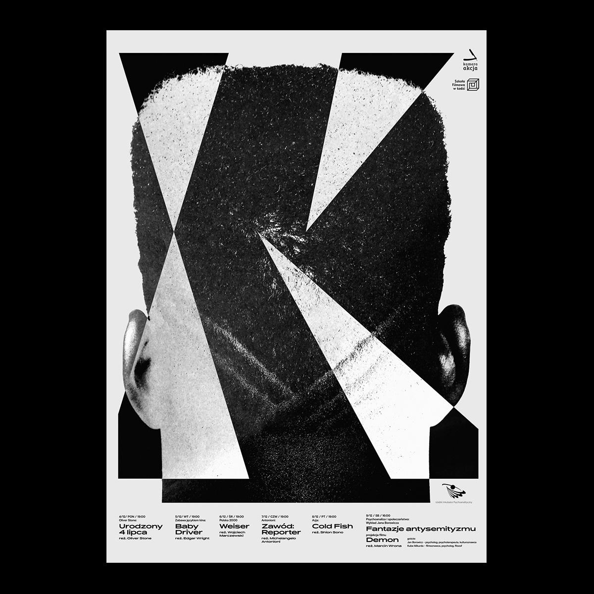 Kamera Akcja Festival Posters Fonts In Use