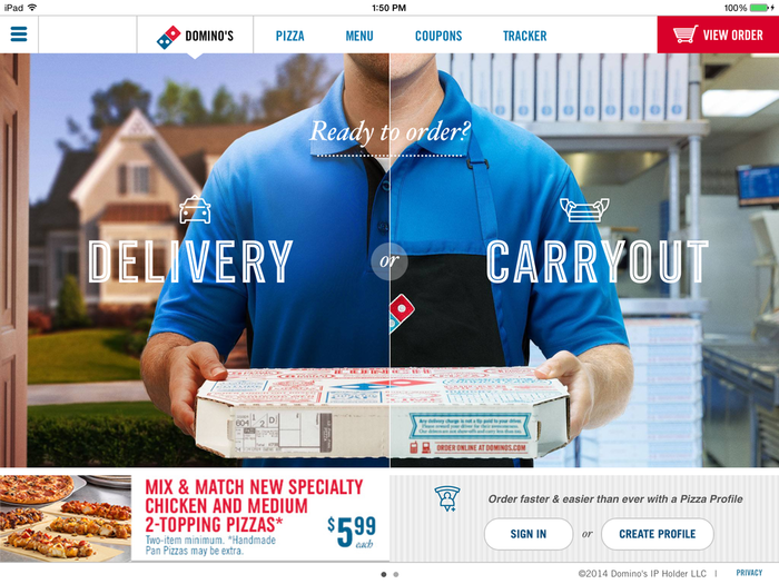 Domino's Pizza 2