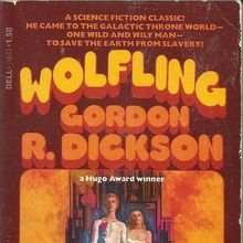 <cite>Wolfling</cite> by Gordon R. Dickson (Dell)