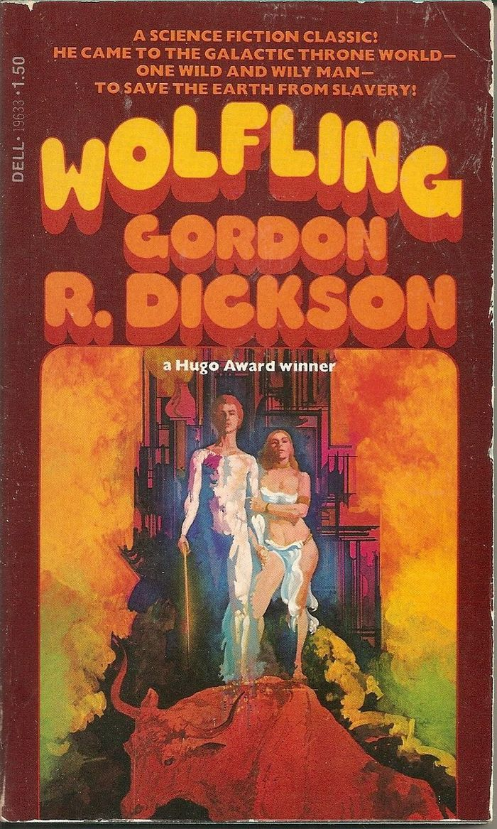 Wolfling by Gordon R. Dickson (Dell)