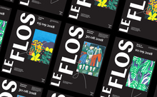 LeFlos branding (fictional)