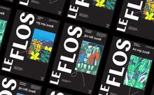 LeFlos branding (fictional)