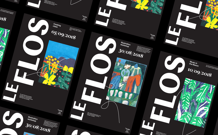 LeFlos branding (fictional) 1