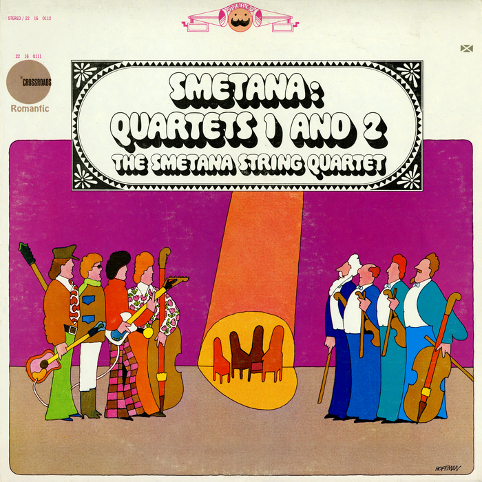Smetana: Quartets 1 and 2 (Crossroads Records)