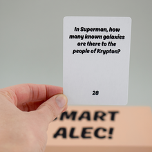 <cite>Smart Alec!</cite> card game