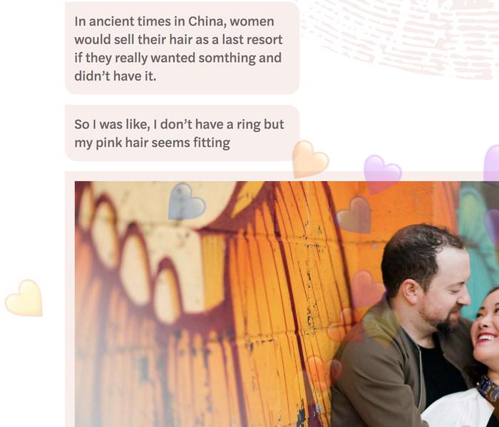Adam & Chao's wedding website 3