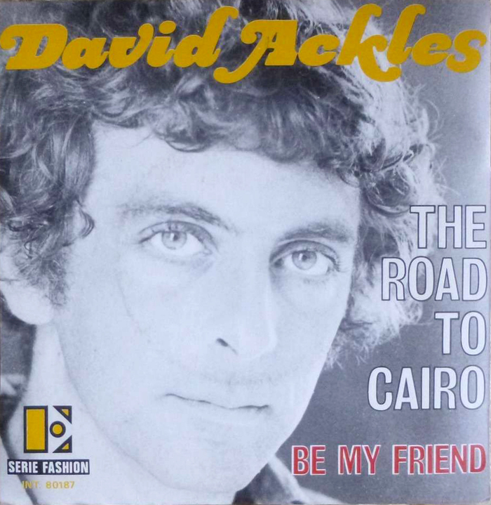 "The sleeve for the French single release of the opening song, ""The Road To Cairo"", features the same typeface for the artist's name. The title appears to be in outlined caps from Grotesque No.9."