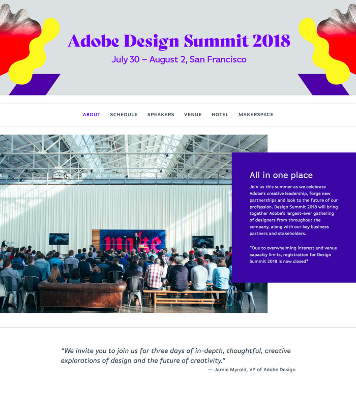 Adobe Design Summit 2018 1