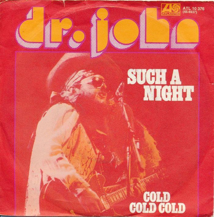 "Dr. John – ""Such A Night"" German single sleeve"