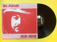 """Dr. John – """"Jet Set"""" single cover (Beggars Banquet)"""