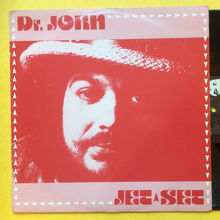 "Dr. John – ""Jet Set"" single cover (Beggars Banquet)"