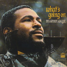 Marvin Gaye – <cite>What's Going On</cite> album art