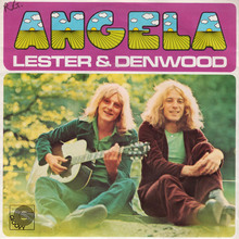 "Lester & Denwood – ""Angela"" single cover"
