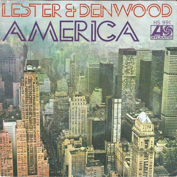 "Lester & Denwood – ""América"" Spanish single cover"