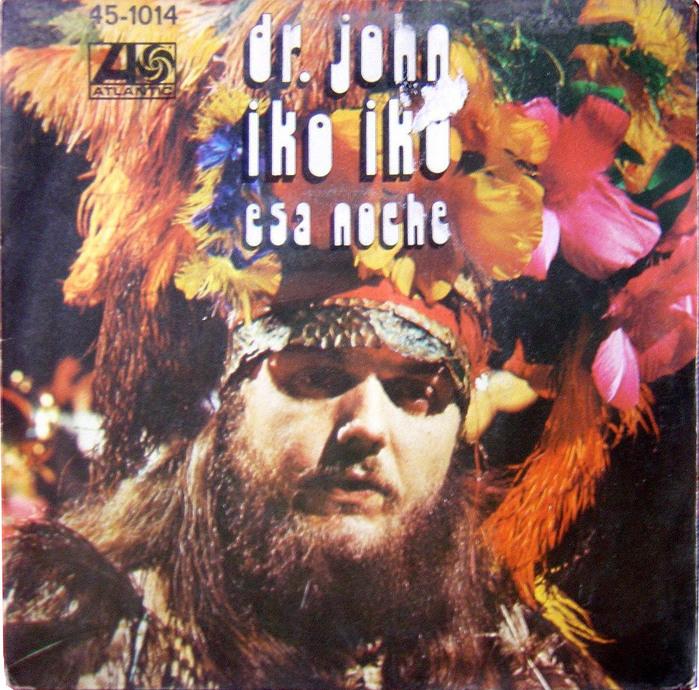 "Dr.John – ""Iko Iko"" Spanish single cover"