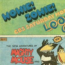 """Wowie! Zowie!"" CBS Saturday Morning ad"