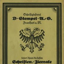 D. Stempel AG ad, 1922