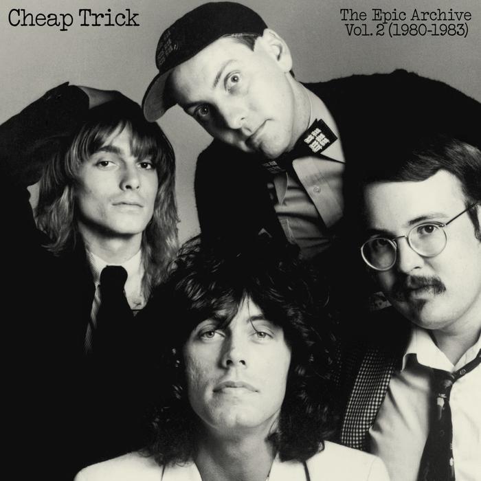 Cheap Trick – The Epic Archive Vols. 1 & 2 album art 2