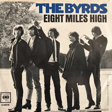 "The Byrds – ""Eight Miles High"" single cover (Columbia)"