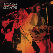 Cheap Trick – <cite>The Epic Archive Vols. 1 &amp; 2 </cite>album art