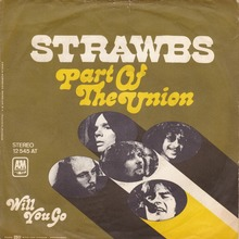 "Strawbs – ""Part Of The Union"" single cover"