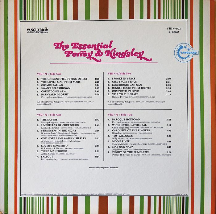 The Essential Perrey & Kingsley album art 2