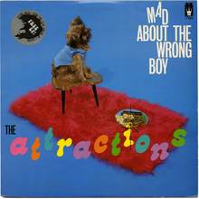 The Attractions – <cite>Mad About The Wrong Boy</cite> album art